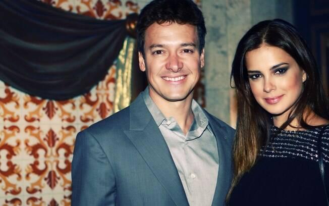 Rodrigo Faro e a mulher Vera Viel