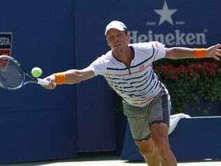 Berdych enfrentará o eslovaco Martin Klizan, número 65 do mundo, na segunda rodada do US Open
