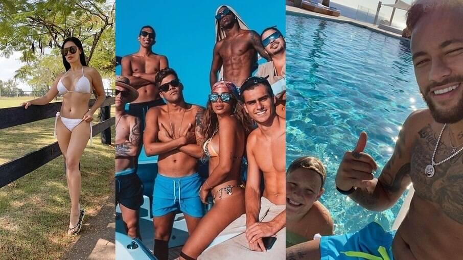 Simaria, Anitta e Neymar estão entre os famosos que já aproveitaram dos prazeres que Ibiza tem a oferecer