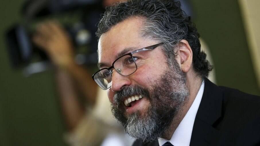 Ex-chanceler brasileiro Ernesto Araújo