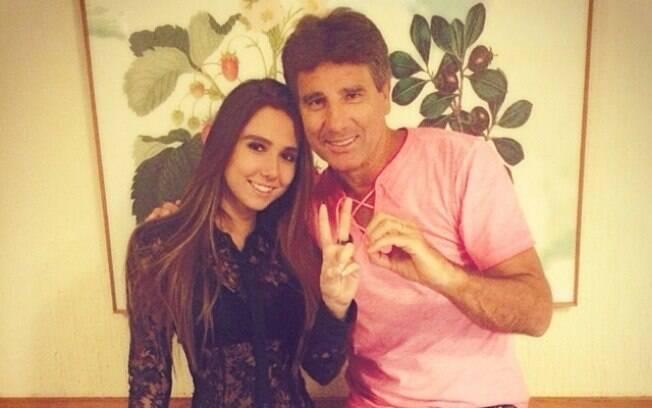 7cff956eb0d09 Carol Portaluppi é filha de Renato Gáucho