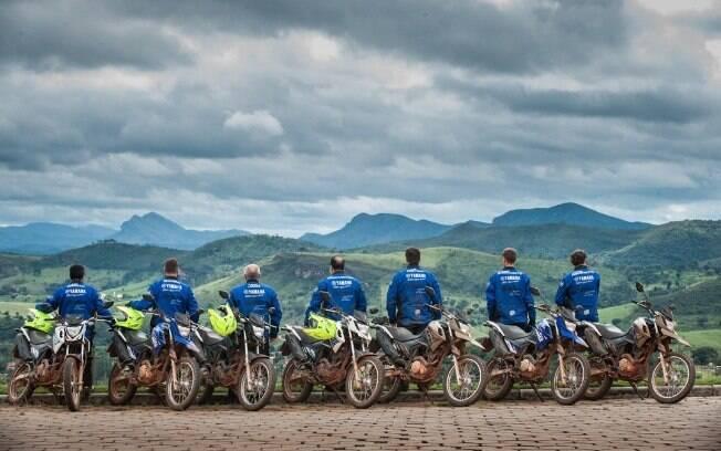 Tour Yamaha Crosser: paisagens, cultura, lama e mais lama, só para não perder o hábito