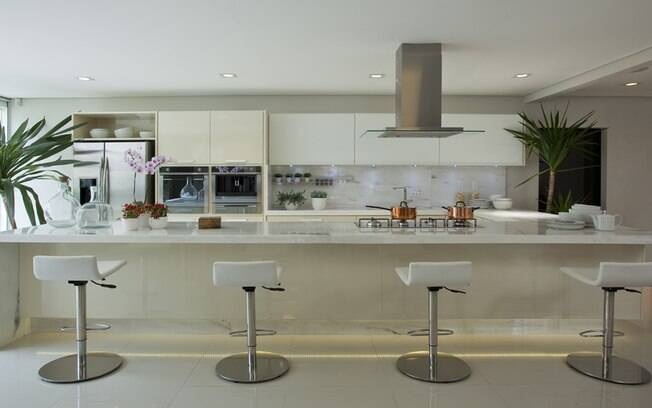 Erros mais comuns no projeto da cozinha  Arquitetura  iG # Iluminacao De Cozinha Com Ilha