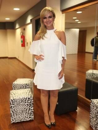 Eliana no prêmio Sorriso do Bem, em São Paulo