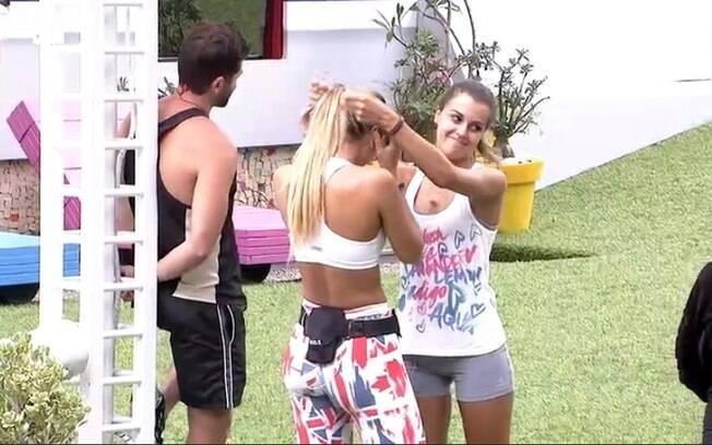 Angela ganha Prova do Anjo e dá Mostro para Roni e Tatiele