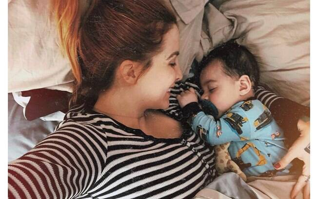 Famosas que foram mães e que descobriram que vão ter filhos em 2018