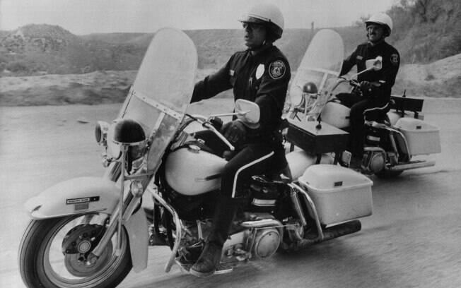 """Robert Blake, o Baretta, é um policial em """"Electra Glide In Blue"""""""
