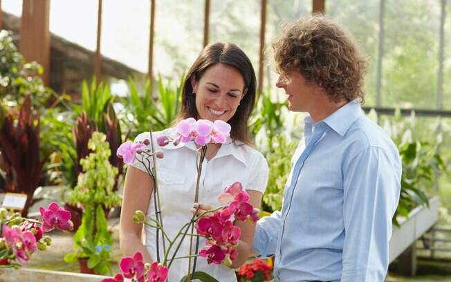 Flores combinam com um presente romântico e também agradam amigos e familiares