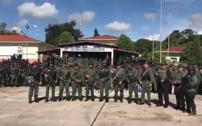 Força Armada Nacional Bolivariana divulgou comunicado condenando ataque paramilitar em base no norte da Venezuela