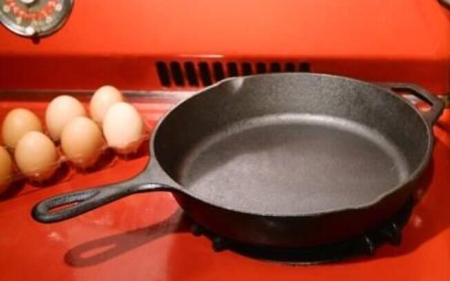 Panela de ferro pode ser uma aliada na cozinha