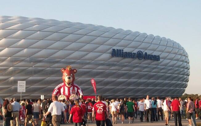 Allianz Arena é a casa do Bayern de Munique