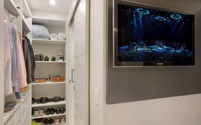 Apartamento de 35 m tem ares modernos e cozinha gourmet for Portas de apartamentos modernas