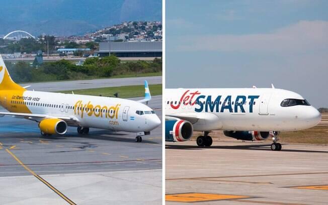 JetSmart e Flybondi encontram dificuldades para retomar voos na Argentina