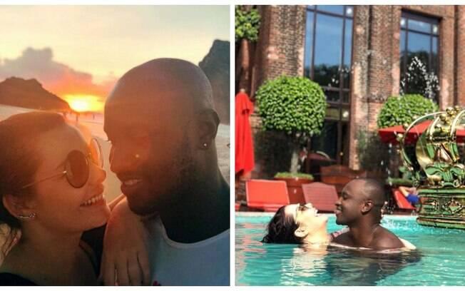 Fernanda Souza e Thiaguinho postam fotos e declarações juntos nesse Dia dos Namorados!
