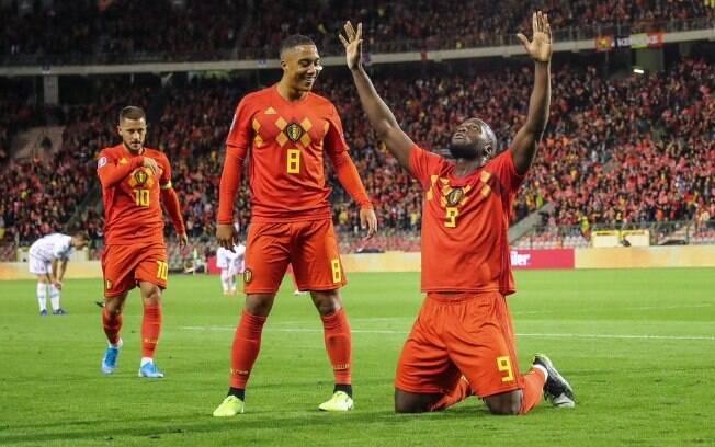 Seleção da Bélgica fez 9 a 0 sobre San Marino