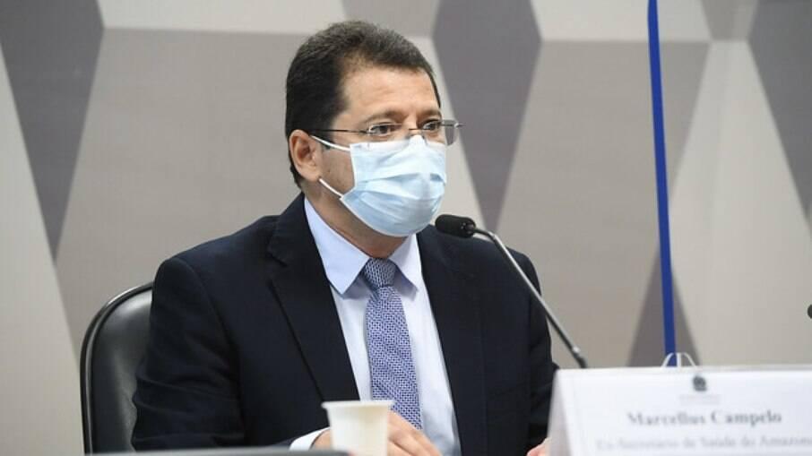 Marcellus Campêlo na CPI da Covid