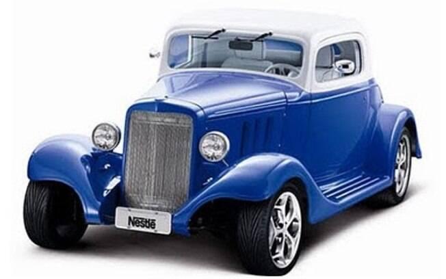 Chevrolet 1933 Hot Rod, preparado com aval de Emerson Fittipaldi e que fez parte de uma promoção da Nestlé