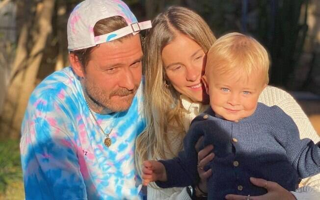 Shantal e família