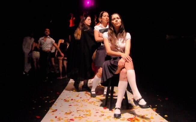 Daniela Albuquerque atriz: foto da peça