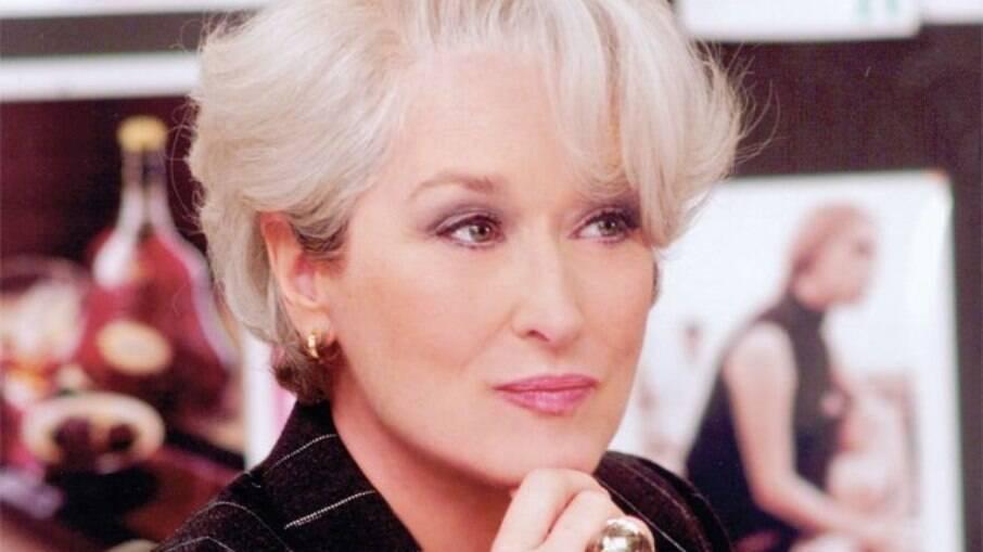 Meryl Streep falou sobre como foi interpretar Miranda Pristley