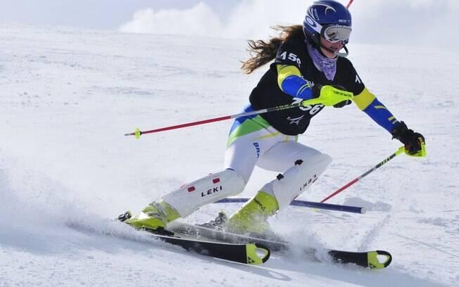 Chiara Marano, por enquanto, é dona da vaga  do Brasil no esqui alpino feminino para 2014