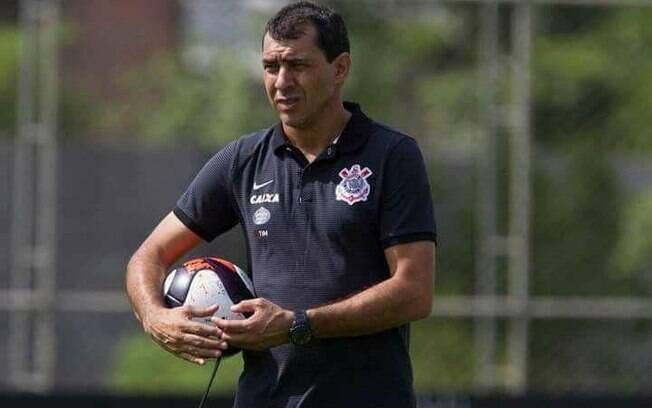 Fábio Carille, técnico do Corinthians