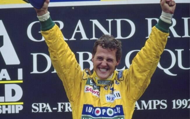 Michael Schumacher, ex-piloto de Formula 1 em 1992 - by esporte.ig.com.br