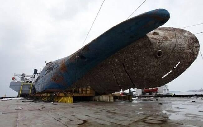 O acidente com o ferry aconteceu no dia 16 de abril de 2014, e nove vítimas ainda continuam desaparecidas