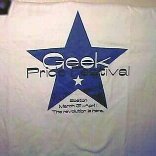 Geek Pride Festival teve edições em Albany e em Boston entre os anos de 1998 e 2000