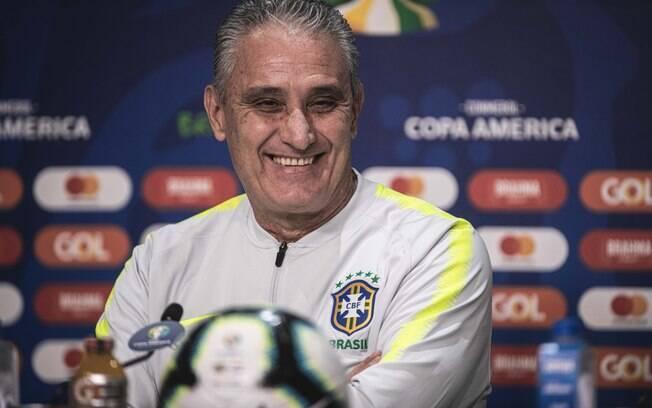 Tite falou sobre alterações no elenco e expectativa da seleção brasileira para o jogo contra o Paraguai
