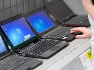 Notebooks e desktops registram queda nas vendas, enquanto tablets avançam
