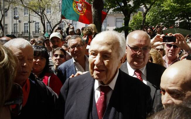 Mario Soares foi presidente duas vezes e primeiro ministro em outras três oportunidades