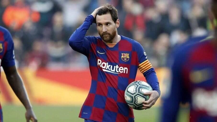 Messi entrará em ação pelo Barcelona diante do Sevilla