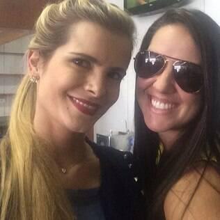 Graciele Lacerda e Flávia Camargo