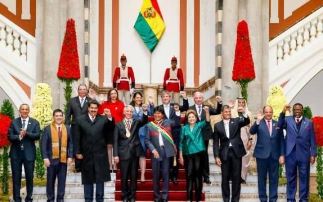 Evo Morales assume a presidência da Bolívia pela terceira vez