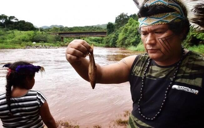 Rio Paraopeba ainda sofre com as consequências do rompimento da barragem de Brumadinho