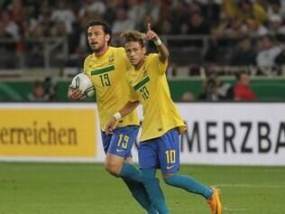 Neymar marcou o último gol brasileiro sobre a Alemanha e agora está fora das semifinais da Copa