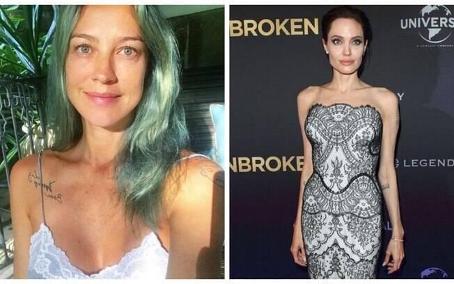 Luana Piovani fala sobre magreza de Angeline Jolie: