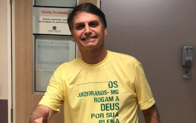 Terceira cirurgia de Bolsonaro será feita no dia 12 de dezembro  para restabelecer o trânsito intestinal