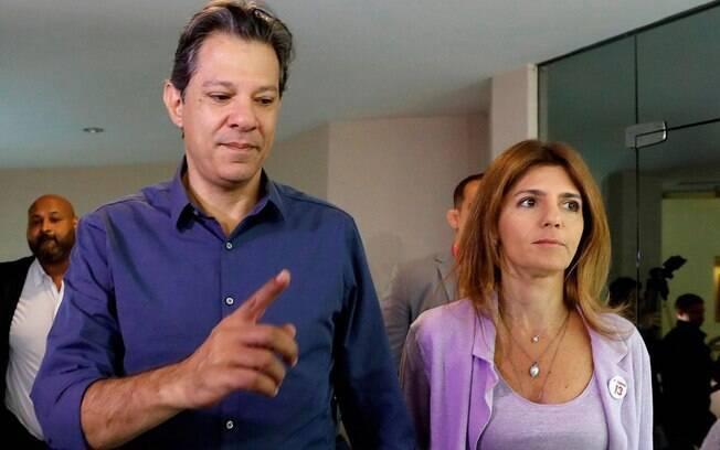 'Vamos lutar até o último minuto', disse Haddad, antes de votar em São Paulo, neste segundo turno das eleições 2018