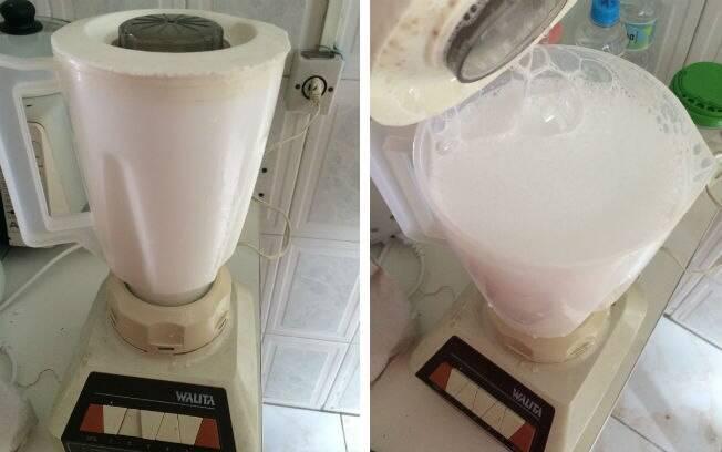 Água com detergente no liquidificador é outro truque que adianta suas atividades na cozinha