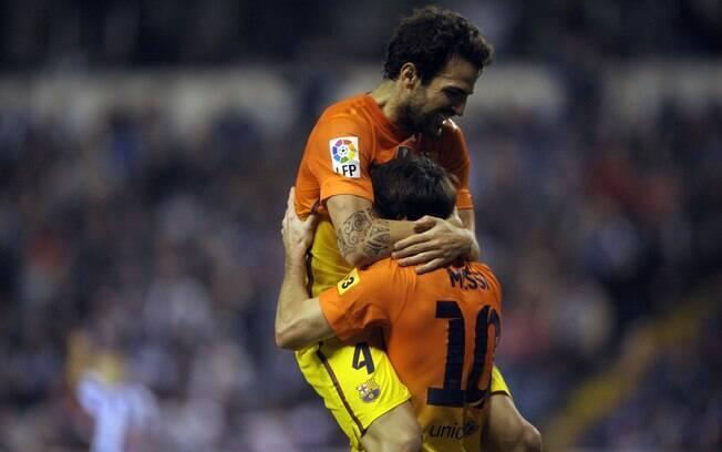 Na rodada seguinte, vitória emocionante por 5  a 4 sobre o La Coruña, em um dos melhores jogos do  campeonato