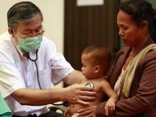 Segundo o Unicef, as mortes de crianças com menos de cinco anos caíram de 12 milhões em 1990 para 6,9 milhões em 2011
