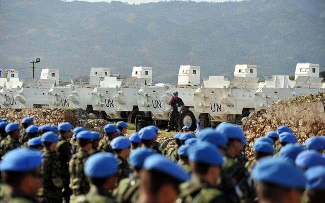 Trapas da ONU foram enviadas a seis dos nove Estados haitianos para eleições