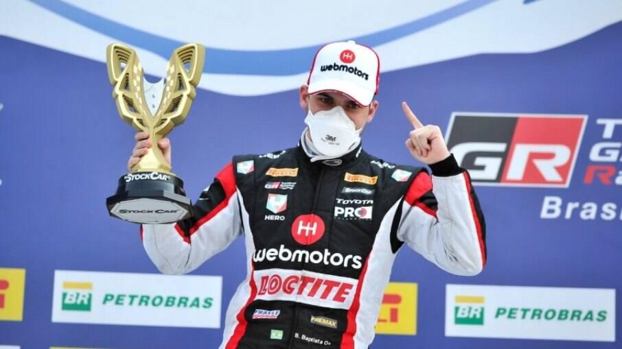 Bruno Baptista vence em Cascavel (PR), a sexta etapa do Campeonato de Stock Car em 2020