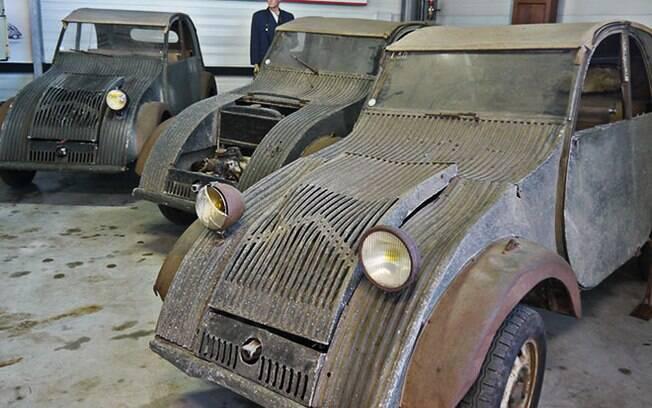 Esses protótipos foram escondidos dos nazistas na Segunda Guerra