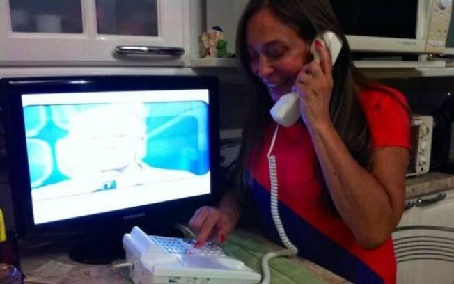Susana Vieira liga para eliminar BBB