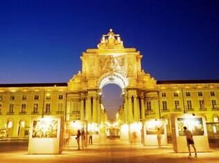 Arcos da rua Augusta, um dos pontos mais fotografados de Lisboa