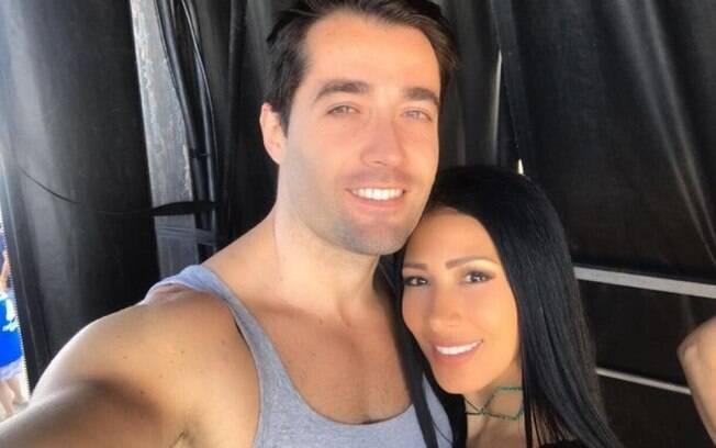 Simaria e o marido