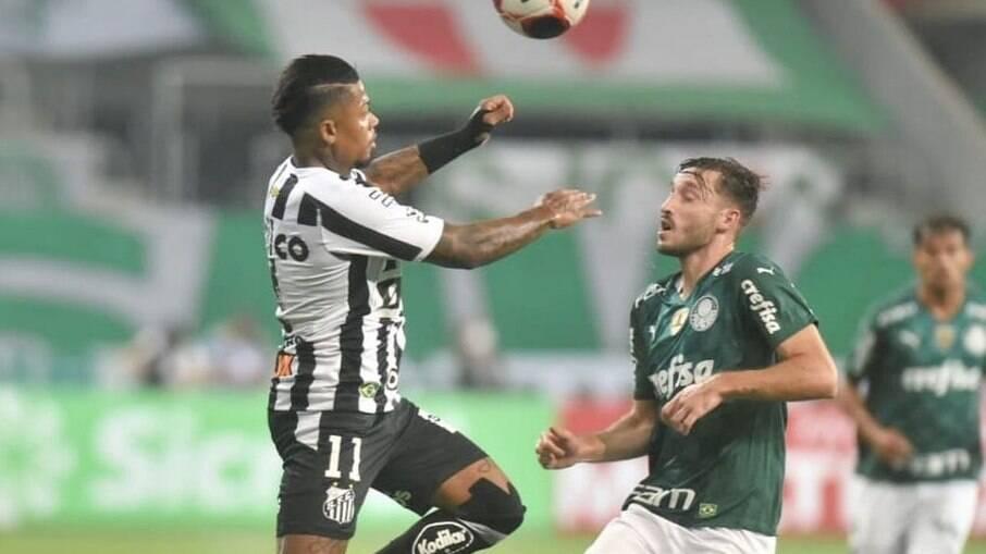 Palmeiras e Santos fazem clássico neste sábado